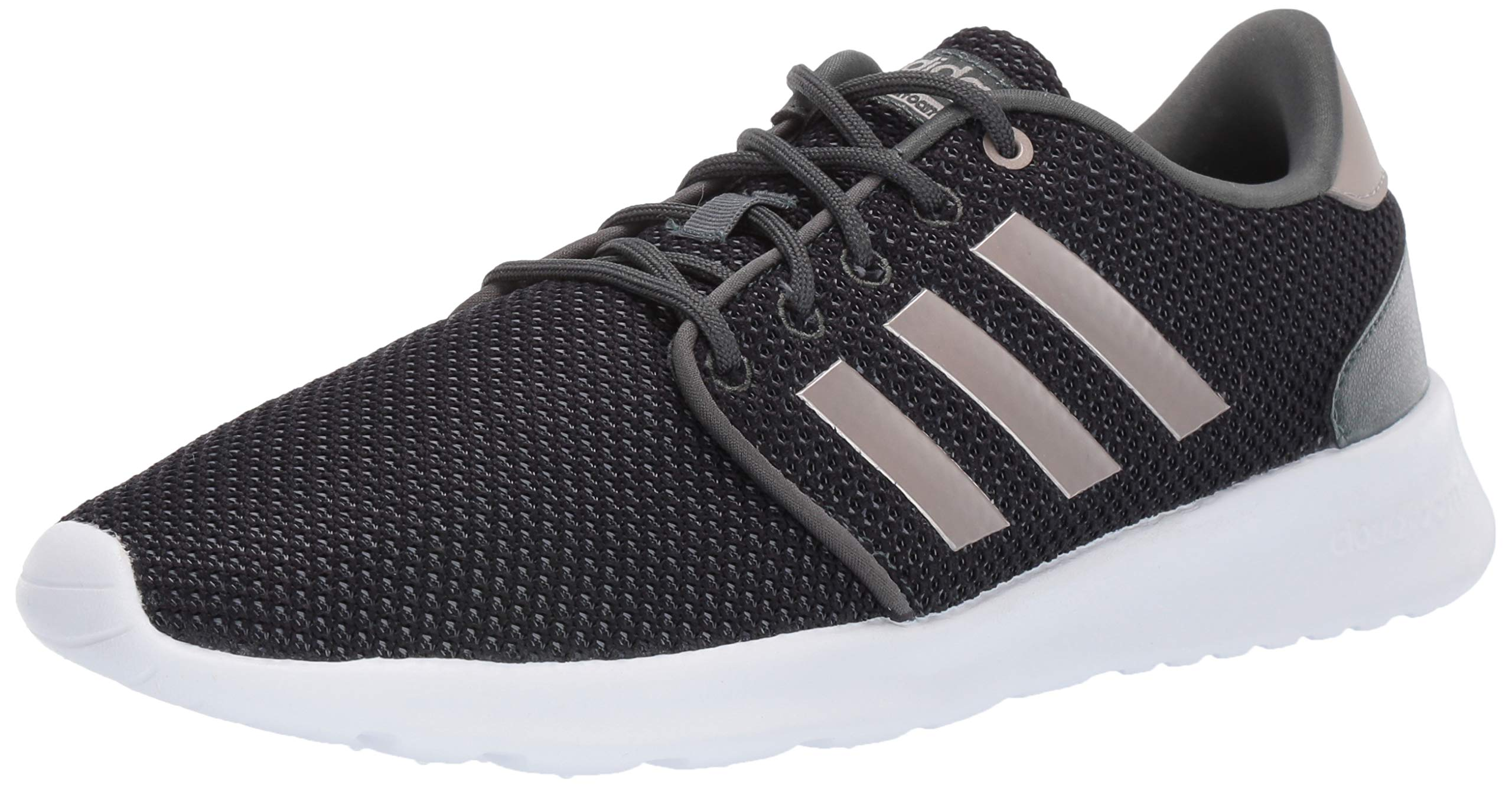 adidas Women's Cloudfoam QT Racer, Legend Ivy/Platino Metallic/Black 5 M US