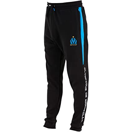 OLYMPIQUE DE MARSEILLE Pantalon Training fit Om Collection Officielle Taille Homme