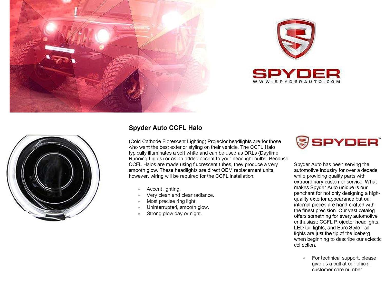 1994 2001 Dodge Ram 1500 Ccfl Halo Projector Headlights Headlight Wiring Diagram 8 Led Fog Bumper Lamps Automotive