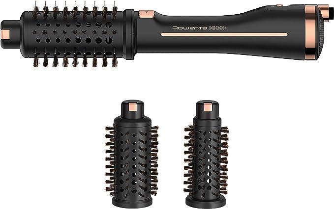 Rowenta·Ultimate·Experience Brosse soufflante 2 en 1 Rotative Sèche et met en forme les cheveux 3 brosses pour tous types de cheveux Réduit l'électricité statique et les frisottis CF9620F0