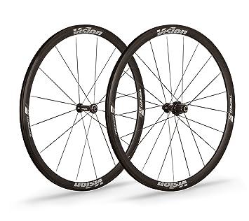 Vision - 2 ruedas Team 35 Comp ultraligeras Clincher de 35 mm, compatibles con Shimano de 10/11 velocidades: Amazon.es: Deportes y aire libre