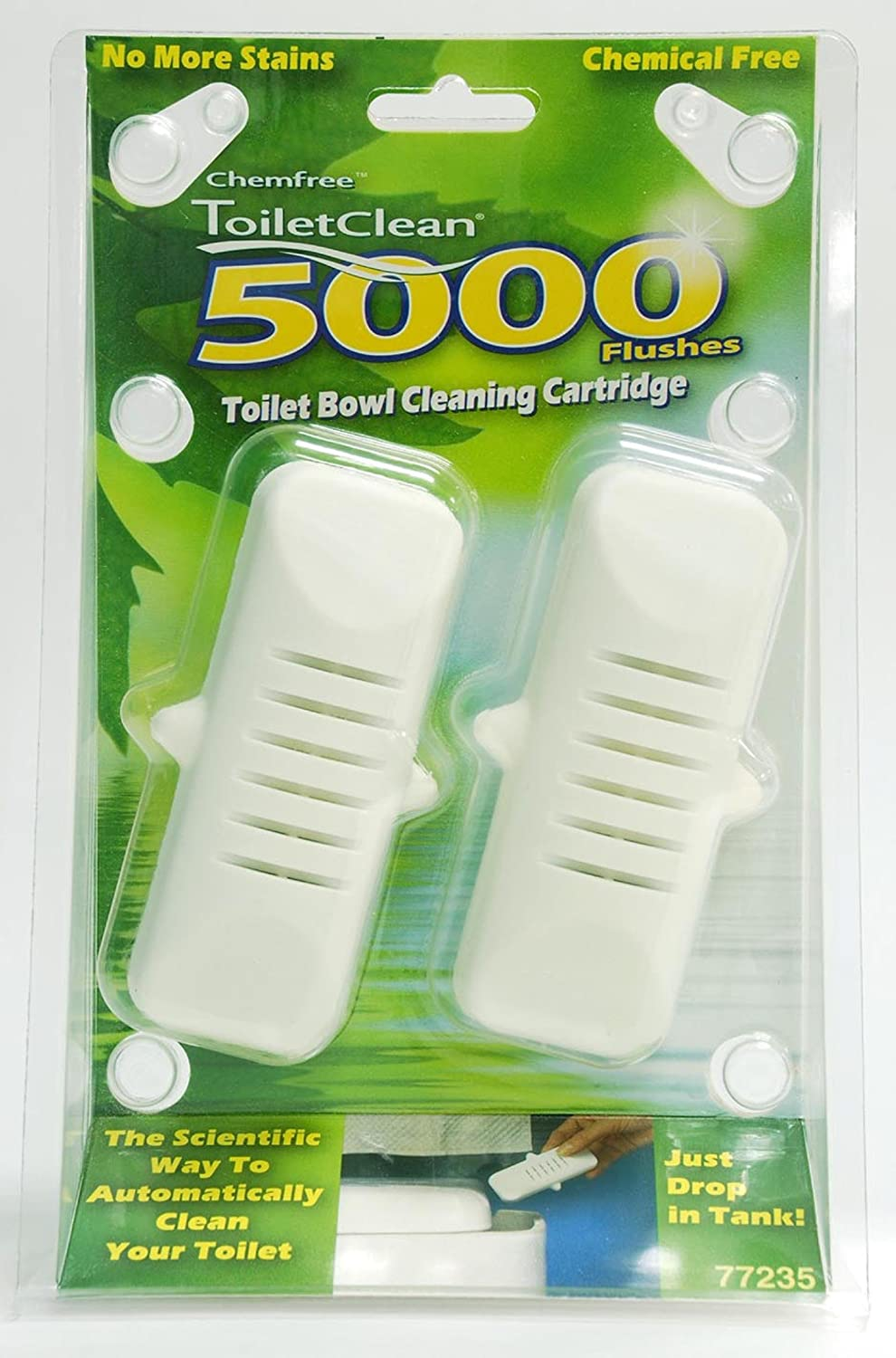 ChemFree Toilet Cleaner (2 units)