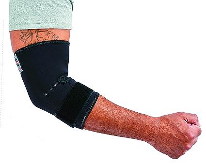 b84c4ff729 Ergodyne ProFlex 655 Neoprene Elbow Sleeve with Strap, Black, Medium ...