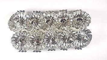 Kerzenhalter Für Weihnachtsbaum.10 Stück Metall Silber Klemmen Clip Baumkerzenhalter Weihnachtsbaum Kerzenhalter