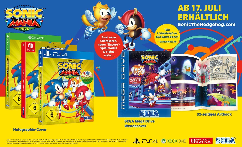 Sonic Mania Plus (XBox ONE): Amazon.es: Videojuegos