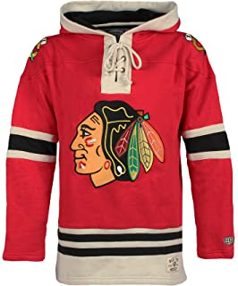 eed80e09528cf Amazon.com   OTS NHL Adult Men s NHL Men s Lacer Pullover Hoodie ...