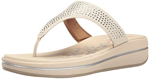 553d815c109fd0 Skechers Women s Upgrades Stones Flip Flop