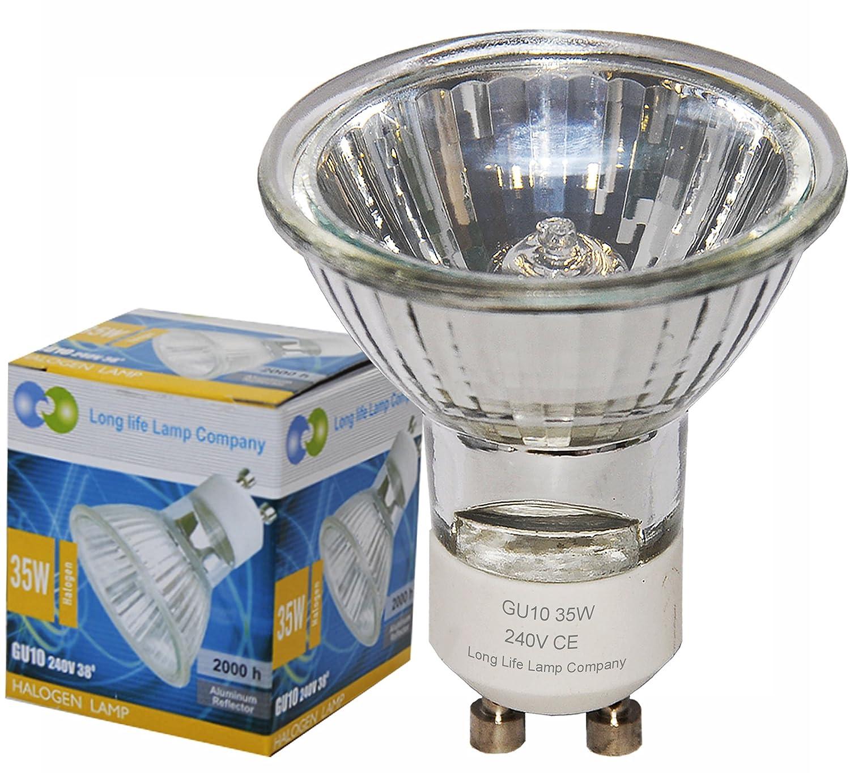 Long Life Lamp pany Halogen Lamp GU Watt Pack of