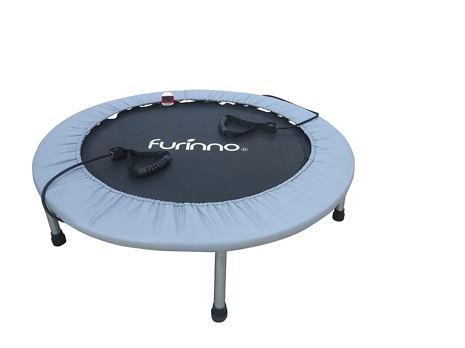 Furinno FT7138MR 38 Trampoline with Monitor & Resistance Tube