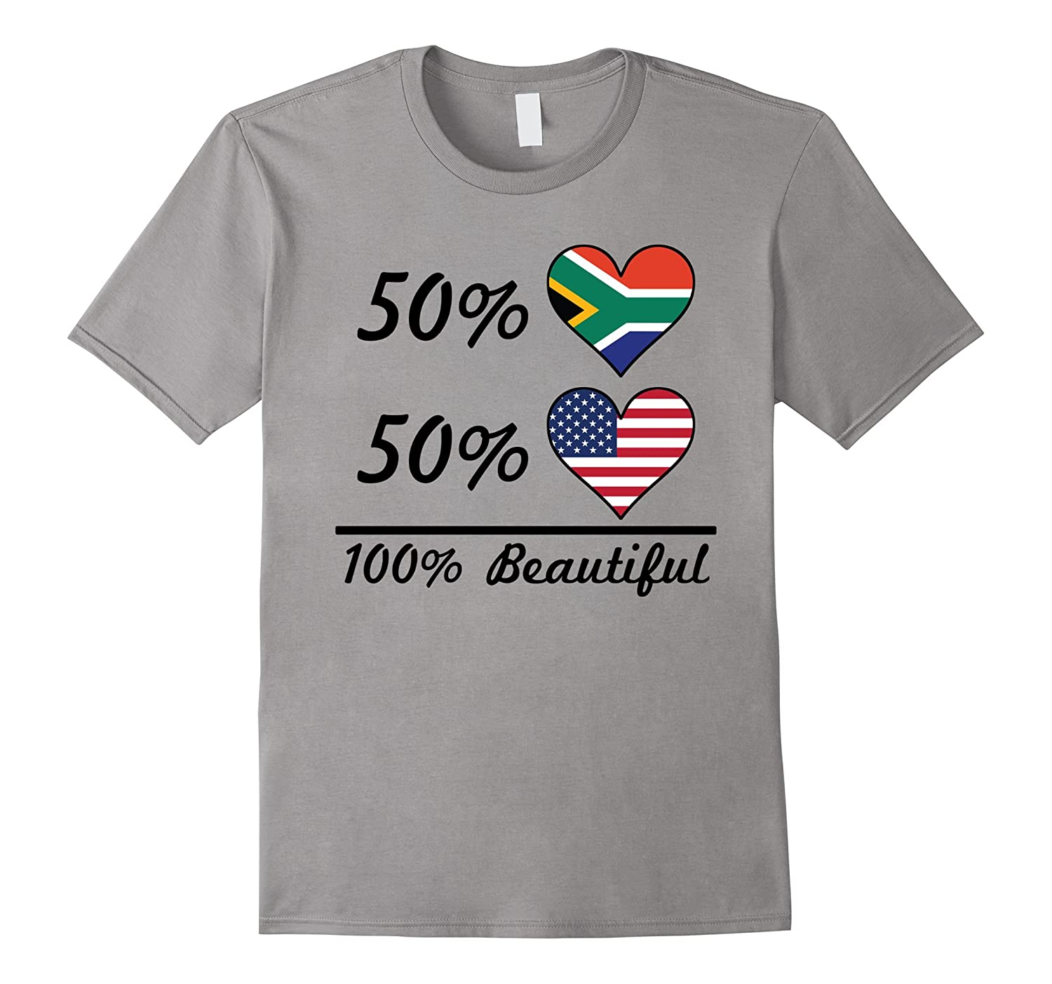 50 South African 50 American 100 Beautiful T-Shirt-TH