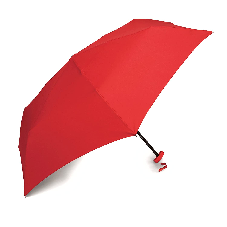 9b7189d938db2 Amazon.com | Samsonite Luggage Manual Compact Flat Umbrella, Black |  Umbrellas