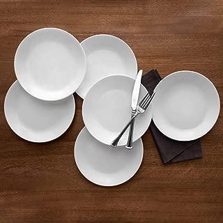 """product image for Corelle Livingware Winter Frost White 10.25"""" Dinner Plate, Set of 6"""
