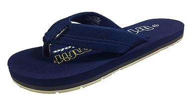 35afa60723 Bata Ortho Comfort Slipper And Flip-Flops (9UK, Blue): Buy Online at ...