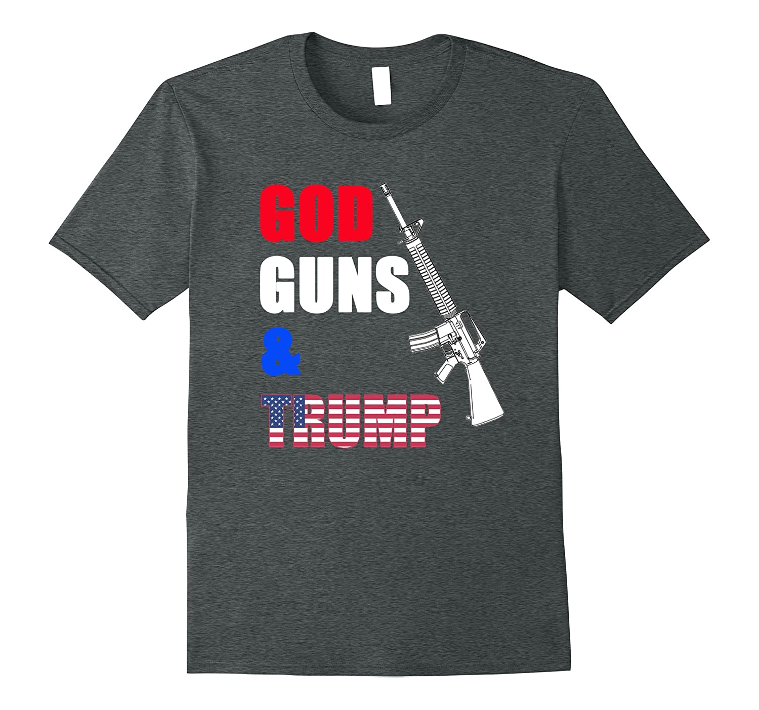 2nd Amendment t- Shirt Pro Trump Shirt-CD