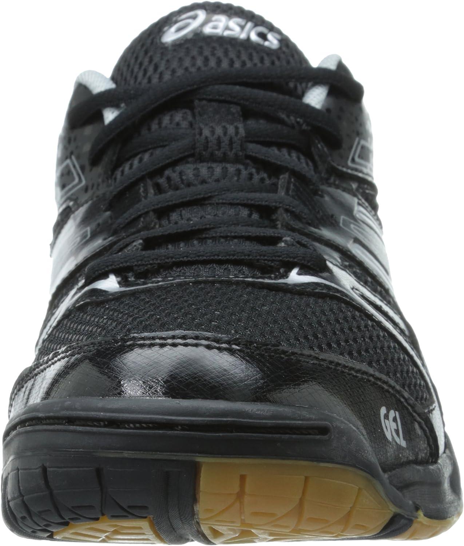ASICS Zapato de sal¨®n de pelota Gel Rocket 7 femenino, negro ...