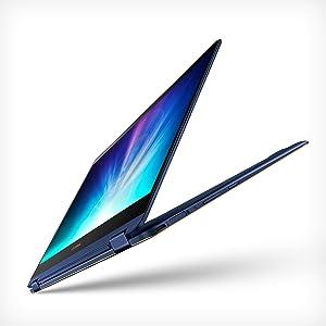 "ASUS ZenBook Flip S Touchscreen Convertible Laptop, 13.3"" Full HD, 8th Gen Intel Core i7 Processor, 16GB DDR3, 512GB SSD, Backlit KB, Fingerprint, Windows 10 Pro - UX370UA-XH74T-BL, Royal Blue"