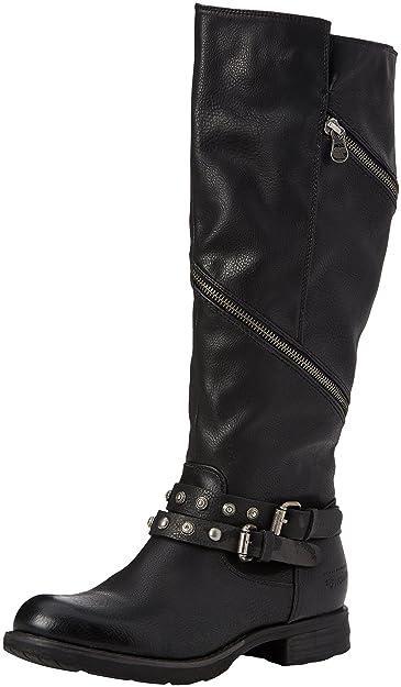 3795614, Bottes Souples Femme, Noir (Black), 36 EUTom Tailor