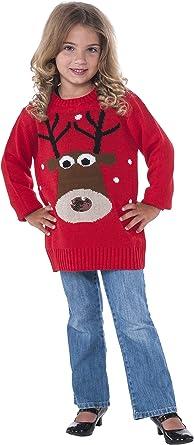 Rubies Disfraz Co. Inc unisex-adult niño reno Jersey de Navidad ...