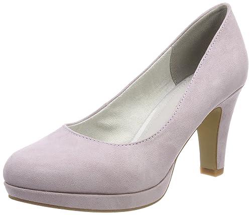 22409, Zapatos de Tacón para Mujer, Azul (Sky), 40 EU s.Oliver