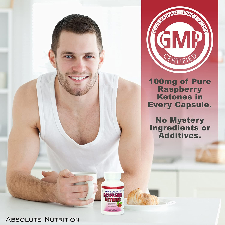 Amazon Com Absolute Nutrition Metabolism Enhancer Raspberry Ketones 60 Caps Health Personal Care