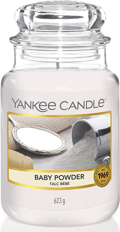 YANKEE CANDLE Baby Powder Large Jar Candle
