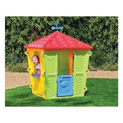 Casetta Per Giardino Plastica.New Plast Casetta In Plastica Fun Casa Gioco Per Bambini Bimbi