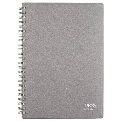 amazon com mead academic year weekly monthly planner