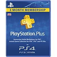PlayStation Plus - 90 Day Subscription [Edizione: Regno Unito]