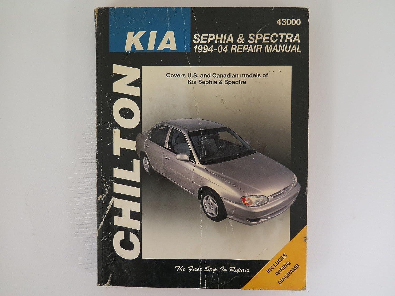 Amazon.com: 1994 - 2004 Kia Sephia and Spectra Repair Manual Guide Book:  Automotive