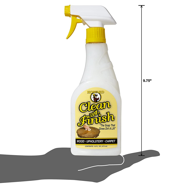 Amazon.com: Howard CF0016 Clean-A-Finish Wood Soap, 16-Ounce: Home ...
