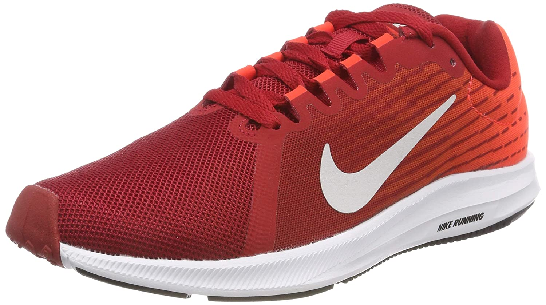 NIKE Damen Downshifter Grau/Bright 8 Sneakers, Mehrfarbig (Gym ROT/Vast Grau/Bright Downshifter Crimson/schwarz 001) 14b244