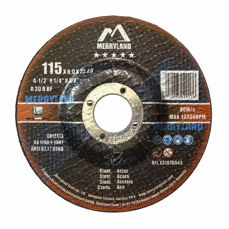 Merryland 115 X 6.0 Expert-line Grinding Disc Steel Metal Iron 10PCS