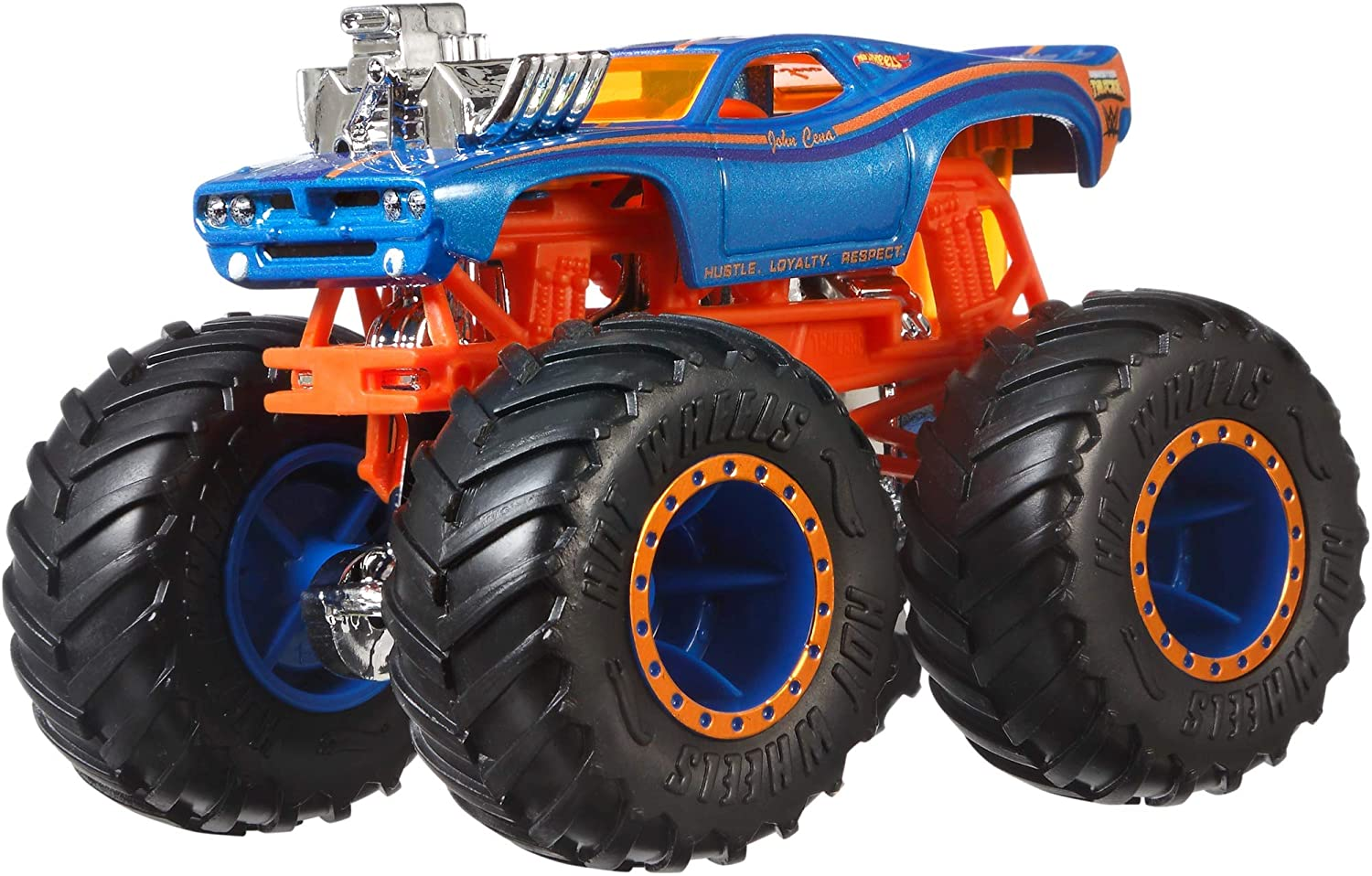 Buy Hot Wheels Monster Trucks 1 64 Wwe Themed Car Assortments Color And Design May Vary Online At Low Prices In India Amazon In