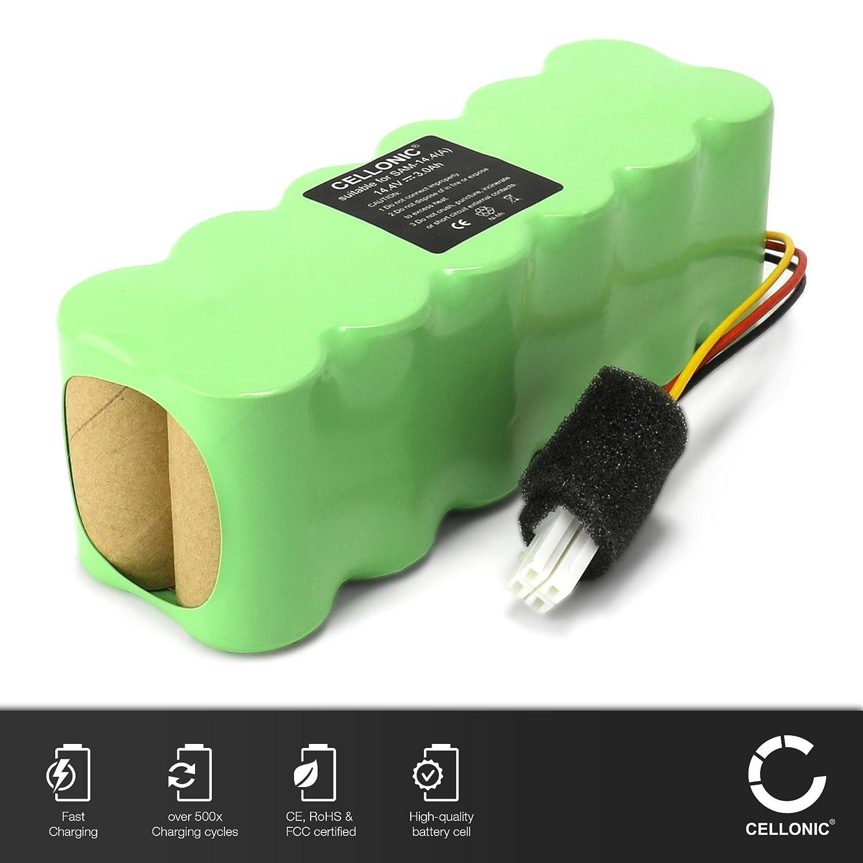 CELLONIC 2X Batería Premium (14.4V, 3000mAh, NiMH) Compatible con ...