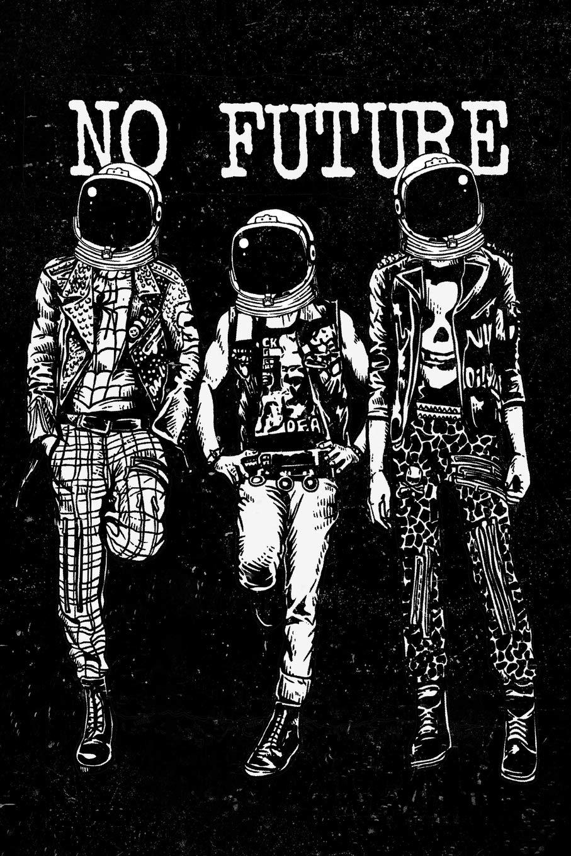 Amazon.fr - No Future: Punk Rock Drawing Doodle Sketchbook Art Pad For Men,  Women, Teen and Kids - Books, DMS - Livres