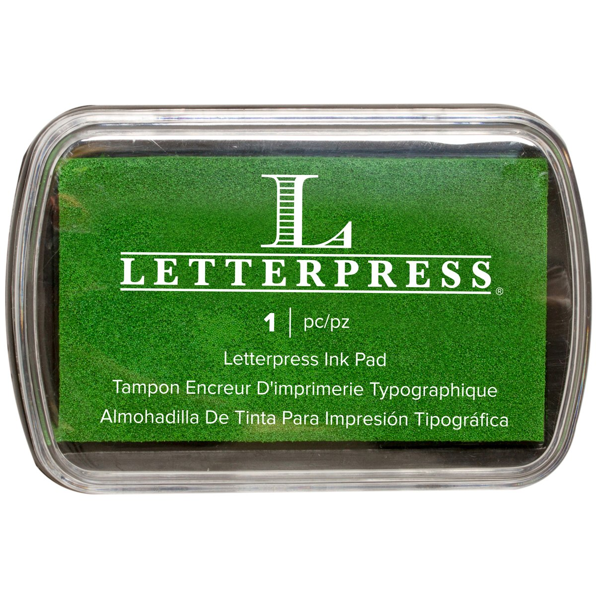 We R Memory Keepers Letterpress Tampone di inchiostro, colore: verde 512470