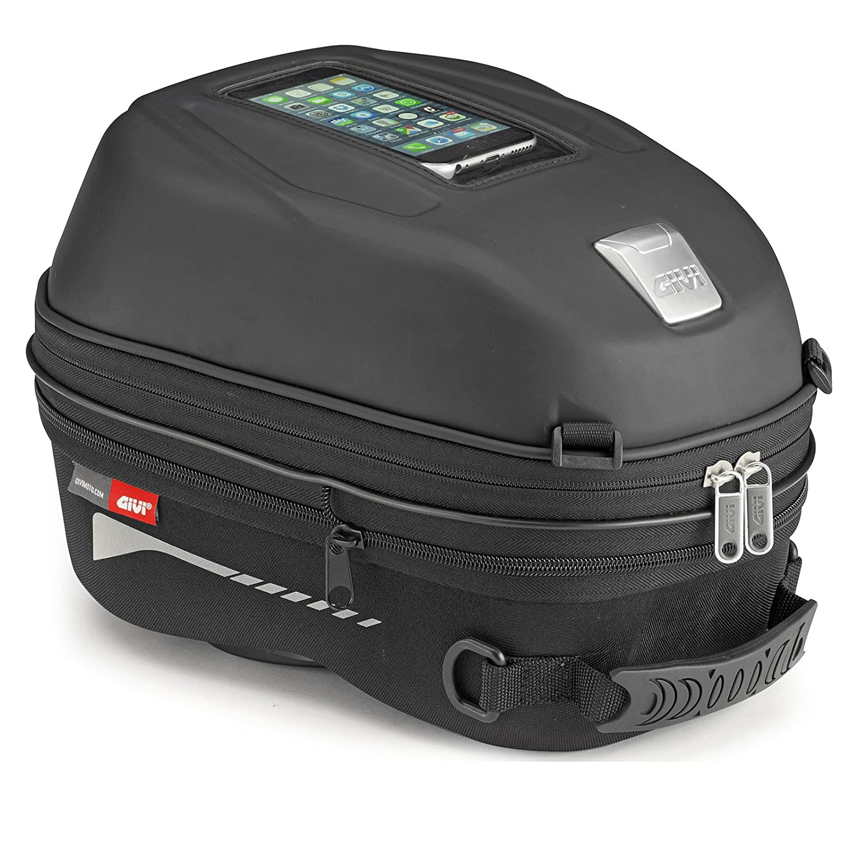 Amazon.com: Givi ST603 Sport-T Tanklock Quick Release Tank Bag 15 ...