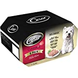 Cesar Dog Food Tray Mixed Selection in Jelly 8x150 g (Pack of 2, Total 16 Trays)