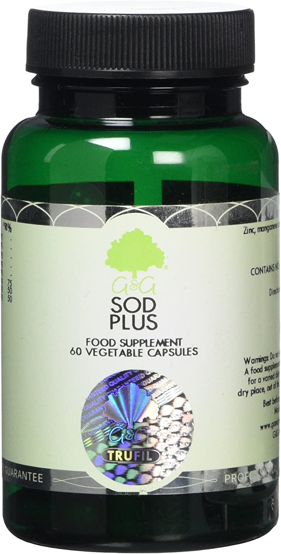 G&G Vitamins Sod Plus (Superoxide Dismutase) (X 60 Capsules)