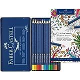 Faber-Castell 114212 Crayon ART GRIP AQUARELLE boîte métal de 12