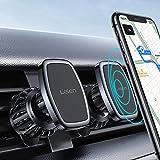 2 Pack Magnetic Phone Car Mount, LISEN 2021 Upgraded Clip Magnet Phone Holder for Car [6 Strong Magnet][6 Metal Plate] Magnet