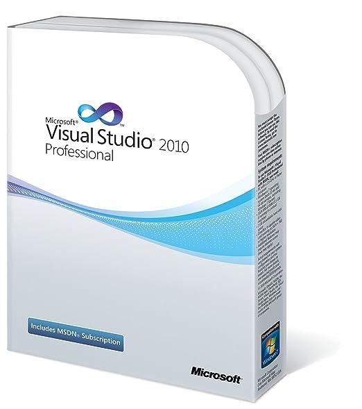 registration key for visual studio 2010 professional