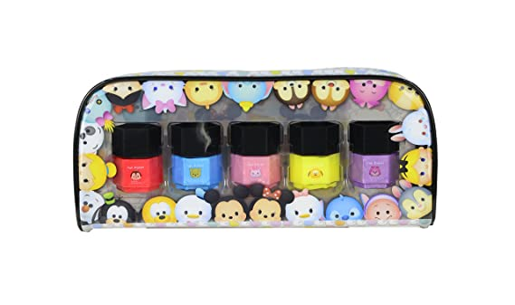 Tsum Tsum - Stack me high nail collection, neceser de esmaltes de uñas (Markwins 9622310): Amazon.es: Juguetes y juegos