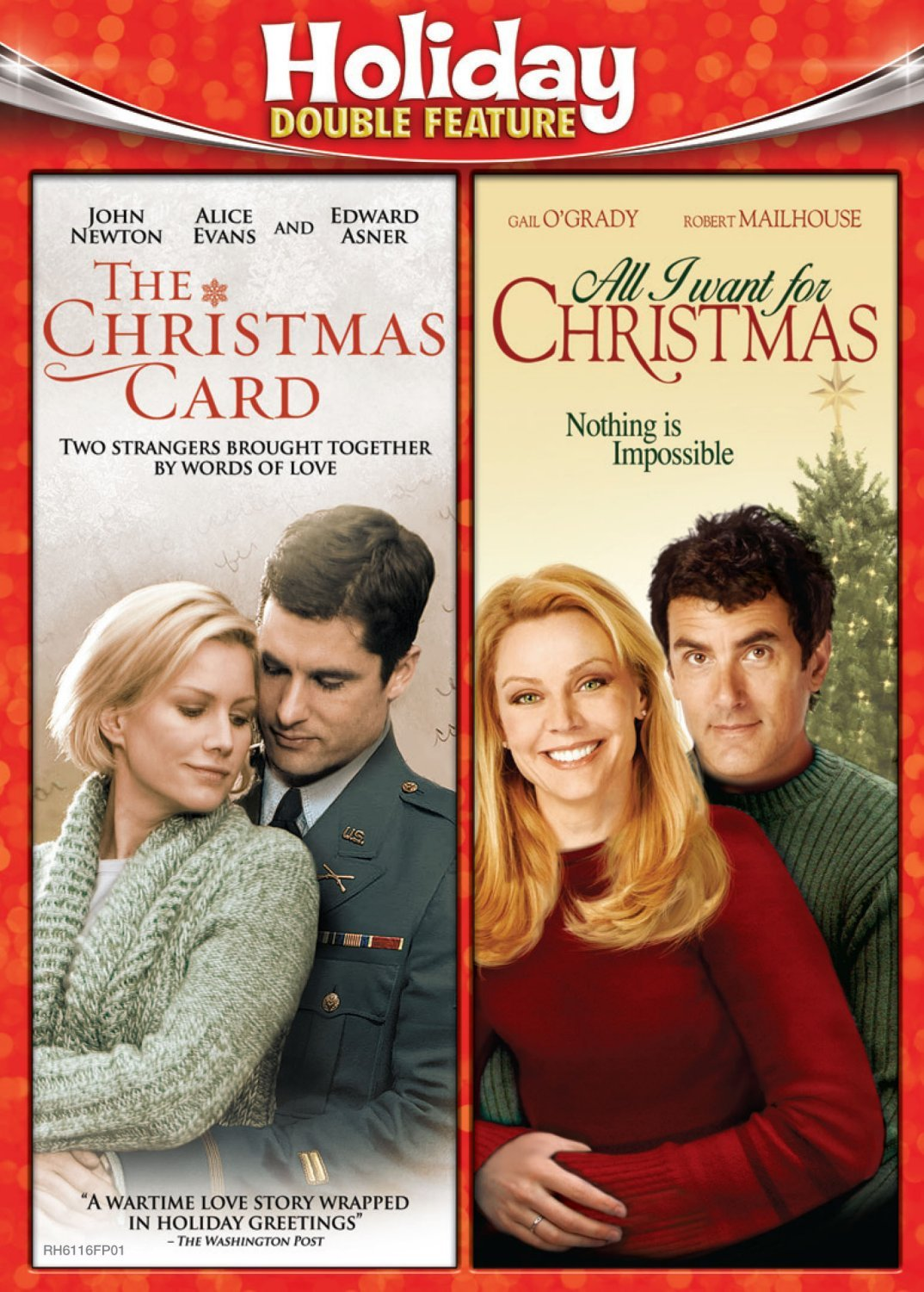 Amazon.com: Holiday Double Feature (Christmas Card/All I Want for ...