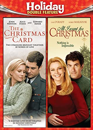 Amazon Com Holiday Double Feature Christmas Card All I Want For