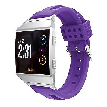 TopTen correa de reloj deportivo de silicona ajustable banda ...