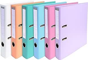 Exacompta 53044E - Carpeta (Conventional file folder, Caja de cartón, Multicolor, A4, 320 mm, 290 mm): Amazon.es: Oficina y papelería