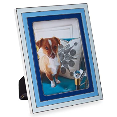 Now House by Jonathan Adler Chroma Enamel Frame, 5  x 7 , Blue