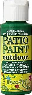 product image for DecoArt DCP46-3 Patio Paint, 2-Ounce, Mistletoe Green