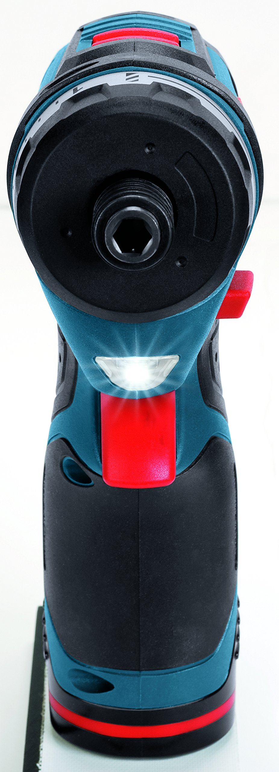 Bosch PS21-2A 12-Volt Max Lithium-Ion 2-Speed Pocket Driver Kit with 2 Batteries, Charger and Case by Bosch (Image #4)